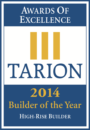 Tarion Builder of the Year 2014